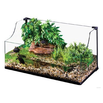 Exo Terra Bent Glass Turtle Terrarium 36 By 18 By 12 Inch Shop