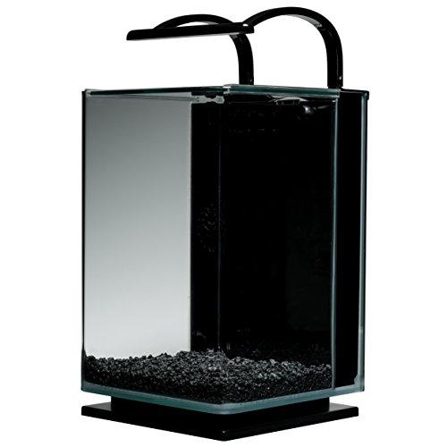 Marineland Contour Glass Aquarium Kit with Rail Light, 5 ...