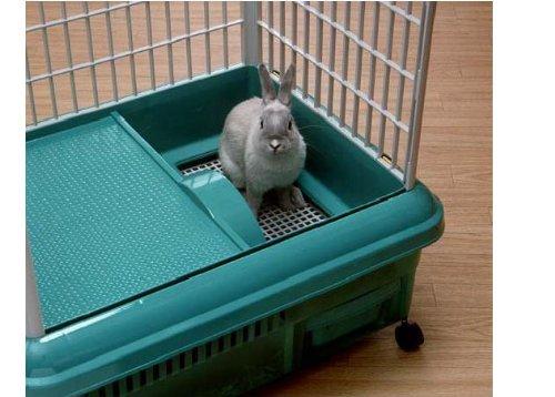 Plastic Rabbit Cage Rp 750 Black Gray Shop Pet