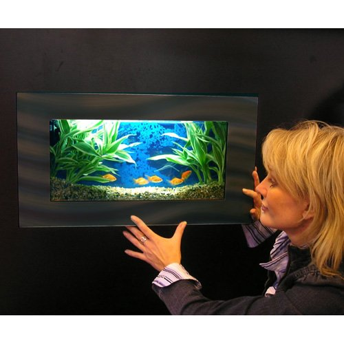 Aussie Aquariums Wall Mounted Aquarium Mini Black Shop