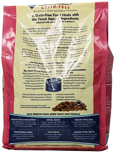 Ideal Balance Dog Food >> Blue Buffalo Small Breed Freedom Grain Free Chicken Recipe ...