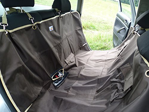 upset     lyzzo dog travel mat  u2013 extra strong dog hammock for car  u2013 heavy      rh   petloverscenter