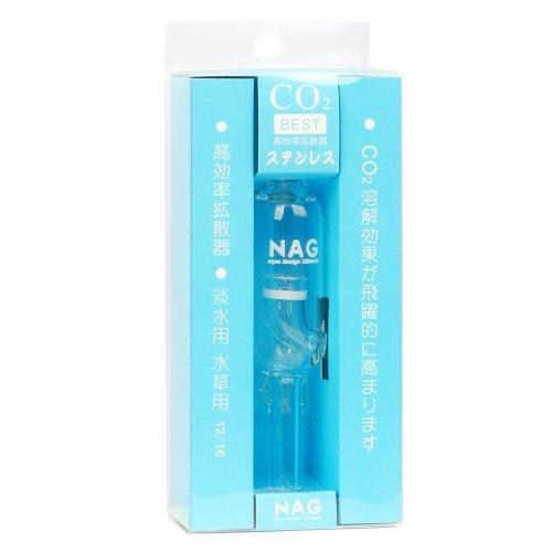 nag aquarium co2 air glass external 12 16mm diffuser for water