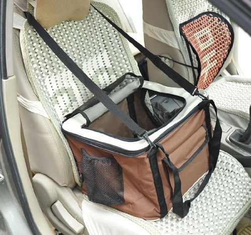 Pawhut Soft Sided Pet Travel Tote Bag Dog Carrier Seat