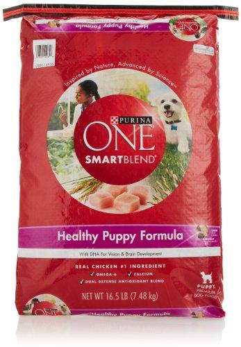 Purina One Dog Smartblend Healthy Puppy Formula 16 5 Pounds
