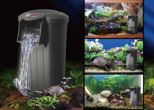 ... -WATER-LEVEL-FILTER-Perfect-for-Turtle-Snake-Lizard-and-Fish-Tanks-0